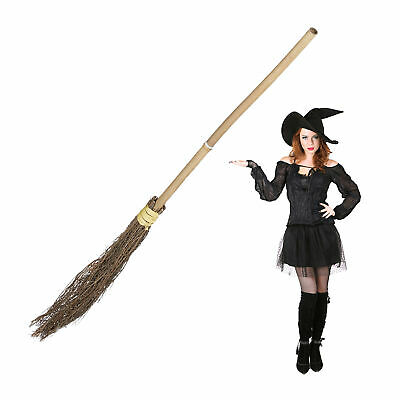 Broomstick Witch Halloween Spell Broom Adult Witches Witchcraft Sorcery