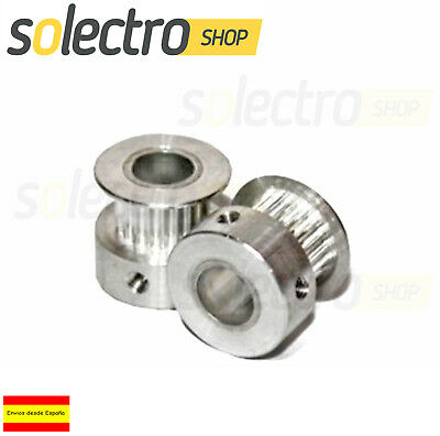POLEA GT2 20 DIENTES 8MM BORE ALUMINIO PULLEY IMPRESORA 3D Printer PRUSA CNC I63