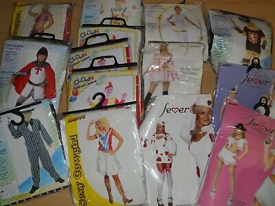 Wholesale Bundle Job lot of 14 x Ladies boys and girls  Fancy Dress Costumes