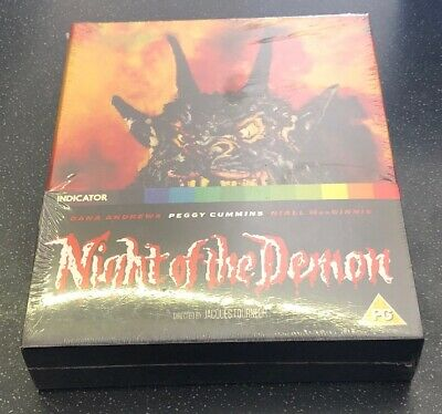 Night Of The Demon- Limited Collectors Edition- Blu Ray