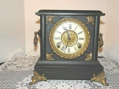 Antique E. Ingraham Mantel Clock (Parts or Repair)