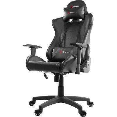Arozzi Forte Racing Style Gaming Chair with High Backrest Black