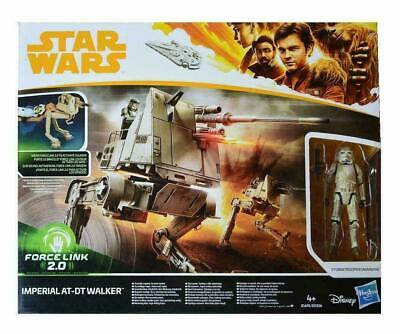 Star Wars Imperial AT-DT Walker and RARE MIMBAN Stormtrooper Action Figure