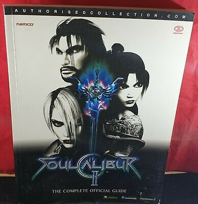 SoulCalibur II Official Strategy Guide VGC