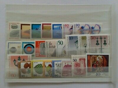 Germany Complete Year 1979 BERLIN Stamp Set Mint Never Hinged MNH German Stamps