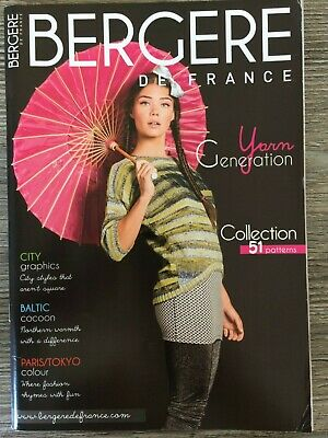 Bergere De France 2016-17 magazine 135 knitting crochet Patterns English