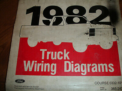 ford f600 truck wiring diagrams 1982 ford f600 f800 f 600 cowl wiring diagrams manual  16 99  1982 ford f600 f800 f 600 cowl wiring