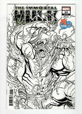 Immortal Hulk #20 SDCC 2019 PX Previews Exclusive B&W Variant (4,000 copies)