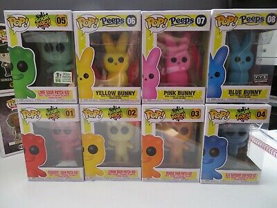 Funko Pop Candy LOT of 8 .. Sour Patch(5) Lime and Peeps(3)
