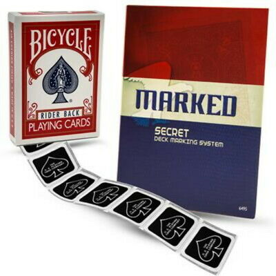 Magic Makers Bicycle Marked Deck Card Kit