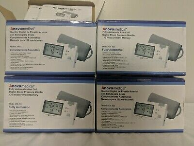 Anova Medical Automatic Digital Arm Cuff Blood Pressure Monitor with 120-Read...