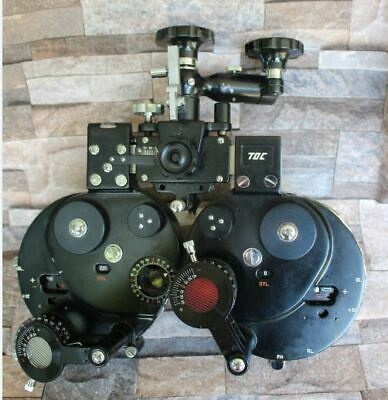 TOC Ophthalmic Manual Optical Vision Tester Refractor Phoropter  Made In JAPAN