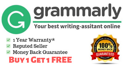 SALE | Grammarly Premium Accounts - Lifetime Warranty