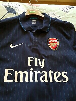 Arsenal football shirt Fly Emirates Size L Nike