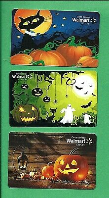 Walmart Canada Halloween Gift Cards No Value