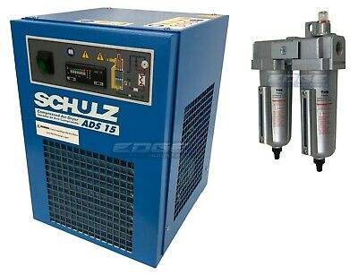 Schulz 15 Cfm Refrigerated Compressed Air Dryer 115V, For 3Hp Compressors Max