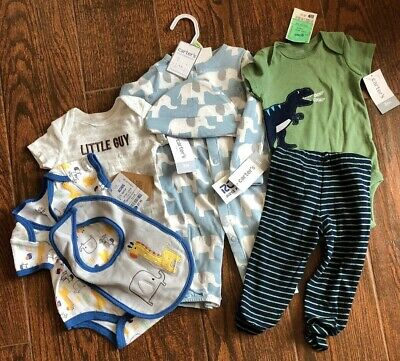 Lot Baby Boy 3 Months And 0-3 Clothes 35 Pieces NEW And Gently Used