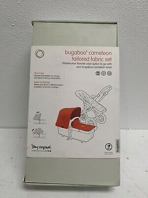 Bugaboo Cameleon3 Tailored Fabric Set, Black  EXT, Brand New