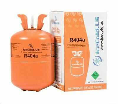 (6) R404a, R404, R-404, 404a Refrigerant *11lb* Full and Factory Sealed