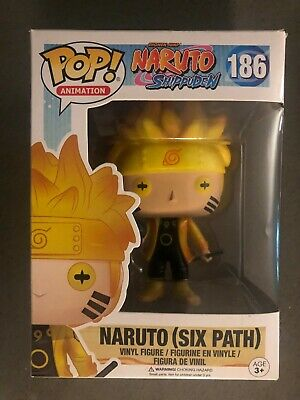 Funko Pop! Animation Naruto (Six Path) GITD Hot Topic Exclusive No Stickers
