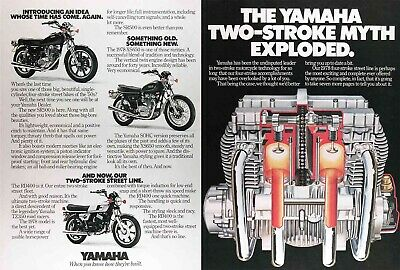 1978 YAMAHA XS-ELEVEN SPECIAL 750  XS750 SR500 XS650 RD400 Genuine Vintage Ad