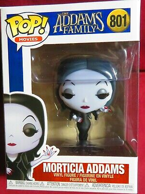 "Brand New Pop Movies, ""The Addams Family"", #801, Morticia Addams,  In Hand"