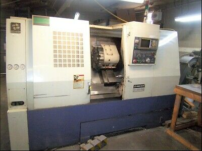 Hwacheon Hi-Eco 31A CNC Lathe with FANUC OT (Turning Center)