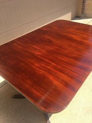 Antique Mahogany Dining Table Duncan Phyfe, w/leaf
