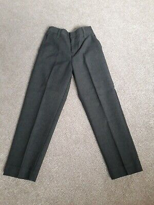 NEW - TU 2xBoys grey school trousers - Age 6 yrs longer length