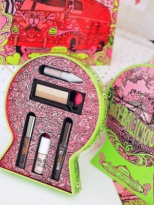Bnib Benefit Make Up Set Limited Edition Tin Theyre Real Mascara Included