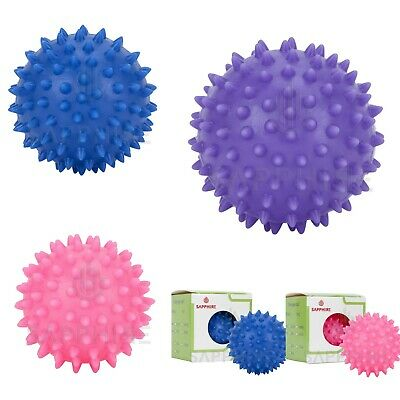 Spiky Massage Ball Trigger Point PVC Roller Balls For Pain Relief 6 / 7.5 / 9 CM