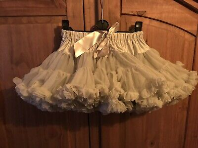 Bob And Blosson Baby Tutu Petite Silver Grey age 18-24 Months Age 2 LOOK