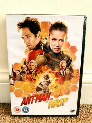 Ant Man And The Wasp Dvd Movie Region 2