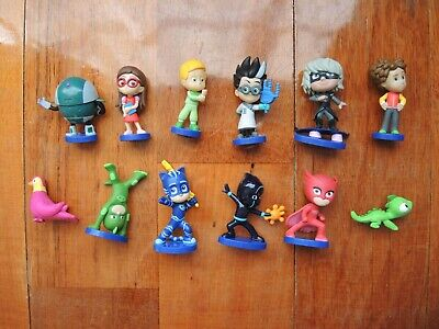 PJ Masks figurines Series 4 Cake toppers collectable figure toys Plastic