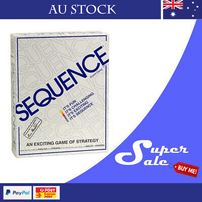 Sequence Party Board Game Family Game