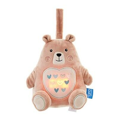 Bennie the Bear Grofriend - Baby Light and Sound Sleep Aid by The Gro Company