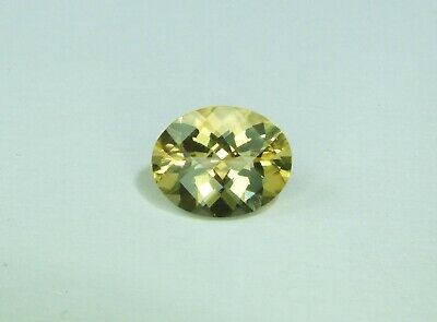 2.22ct Natural untreated Citrine faceted gemstone. 10x8mm. A+ . UK