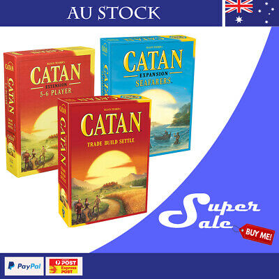 The Settlers of CATAN 5th Edition Base Game And Extension 5-6 Players In Stock