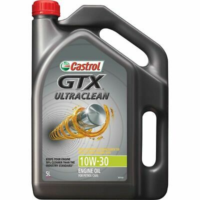Castrol GTX Ultra Clean Engine Oil - 10W-30, 5 Litre