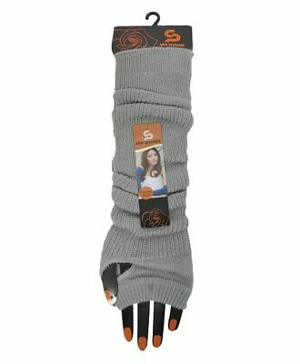 Ladies Long Knit Gloves Fingerless New, Soft, Warm, Free Ship