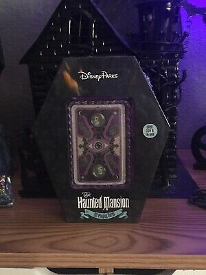 Disney Parks Haunted Mansion 52 Playing Cards Halloween Glow In The Dark New
