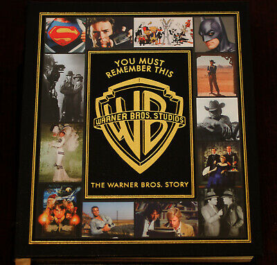 BOOK Warner Bros Studios Story YOU MUST REMEMBER THIS Easton Leather Hollywood