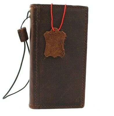 Genuine Real Leather Case fo Apple Iphone 11 Pro Max Wallet Luxury Cover Book jp