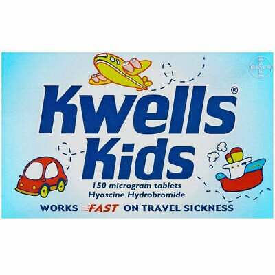 Kwells for Kids Travel Sickness - Melt In Mouth - 12 Tablets