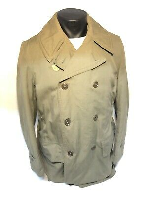 Us Military Wwii Mackinaw Jeep Coat 38R Cold Weather Winter Army Air Force Corps