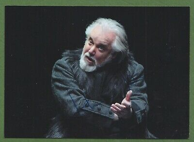 JOHN TOMLINSON in person signed glossy PHOTO 7x5 inch, 18x13 cm *OPERA*