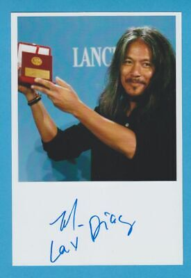 LAV DIAZ in person signed glossy PHOTO 5 x 7 inch AUTOGRAPH