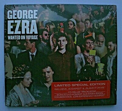 GEORGE EZRA - WANTED ON VOYAGE (CD + DVD Set) *Ltd Special Edition - Brand New*