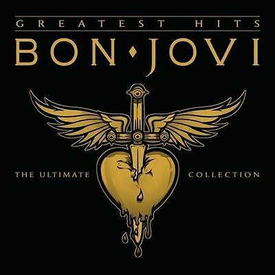 Greatest Hits [Deluxe Edition] by Bon Jovi (2CD, Digipak) FREE SHIPPING  NEW