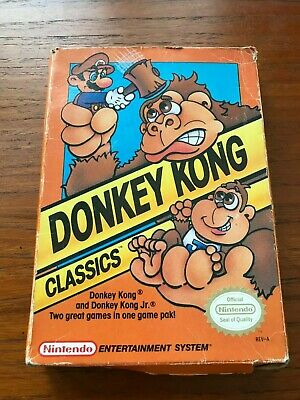 Donkey Kong Classics (1988: Nintendo) CIB, Tested and Cleaned, Good Overall!
